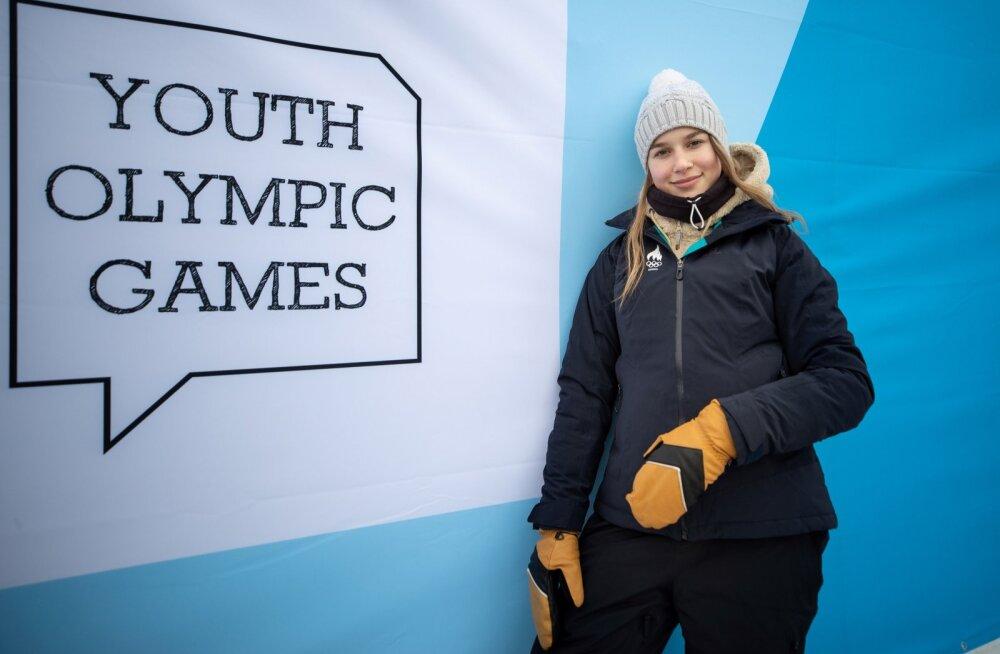 Kelly Sildaru jaoks lõppesid Lausanne'i noorte olümpiamängud kuldmedaliga pargisõidus.