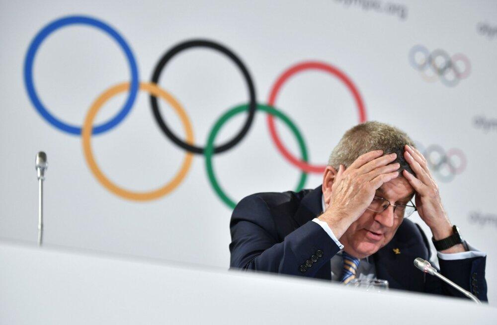 ROK-i president: Pyeongchangi olümpia oleks peaaegu ära jäänud