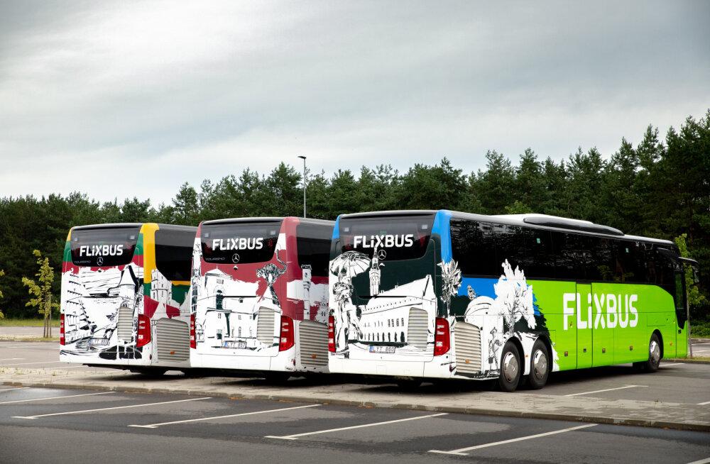 Täna stardib Tallinnast Varssavisse esimene FlixBusi buss
