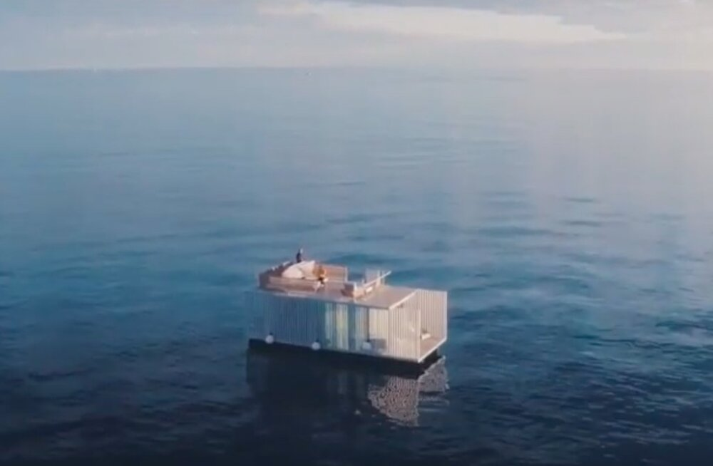 ФОТО | В Испании появился плавучий отель с одним номером