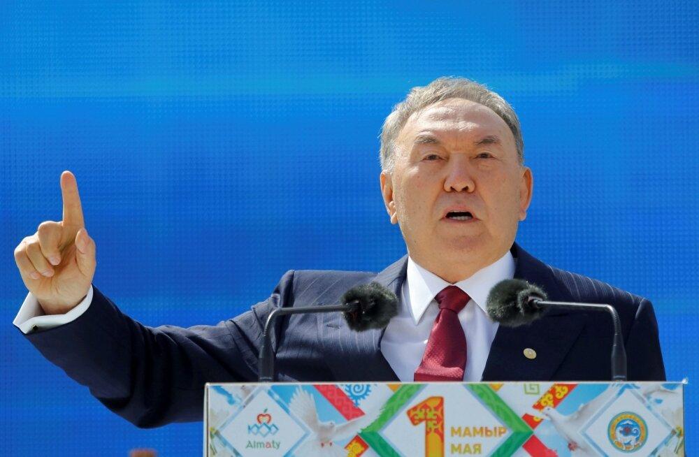Kasahstani president teatas enneolematule heaolu tasemele jõudmisest