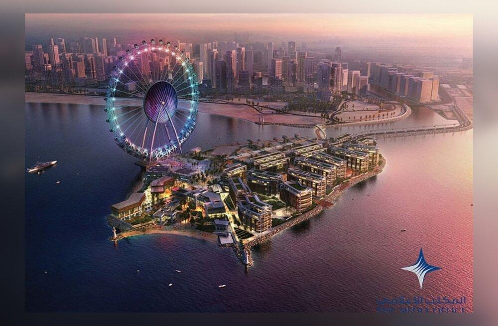 Dubai pingutab maailma kõige külastatuima linna tiitli suunas