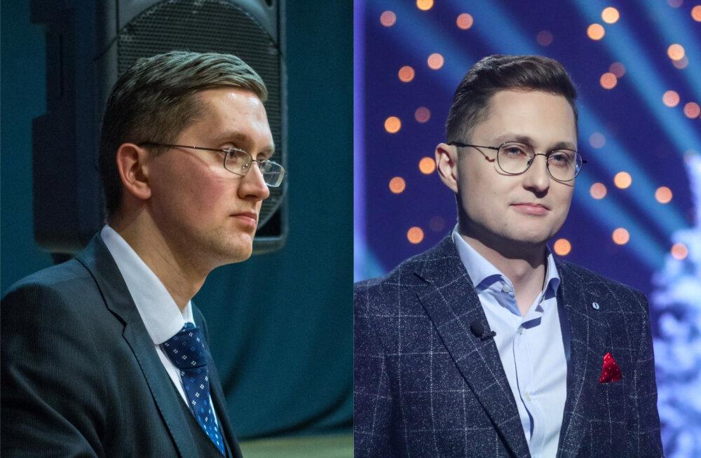 FOTO | Nagu kaks tilka vett! EKRE noorpoliitik Jaak Madison ja ajakirjanik Kristjan Pihl