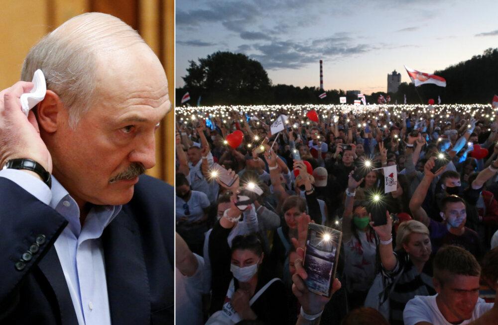 Valgevenelased tulevad massiliselt tänavatele: kas see on Euroopa viimase diktaatori lõpu algus?