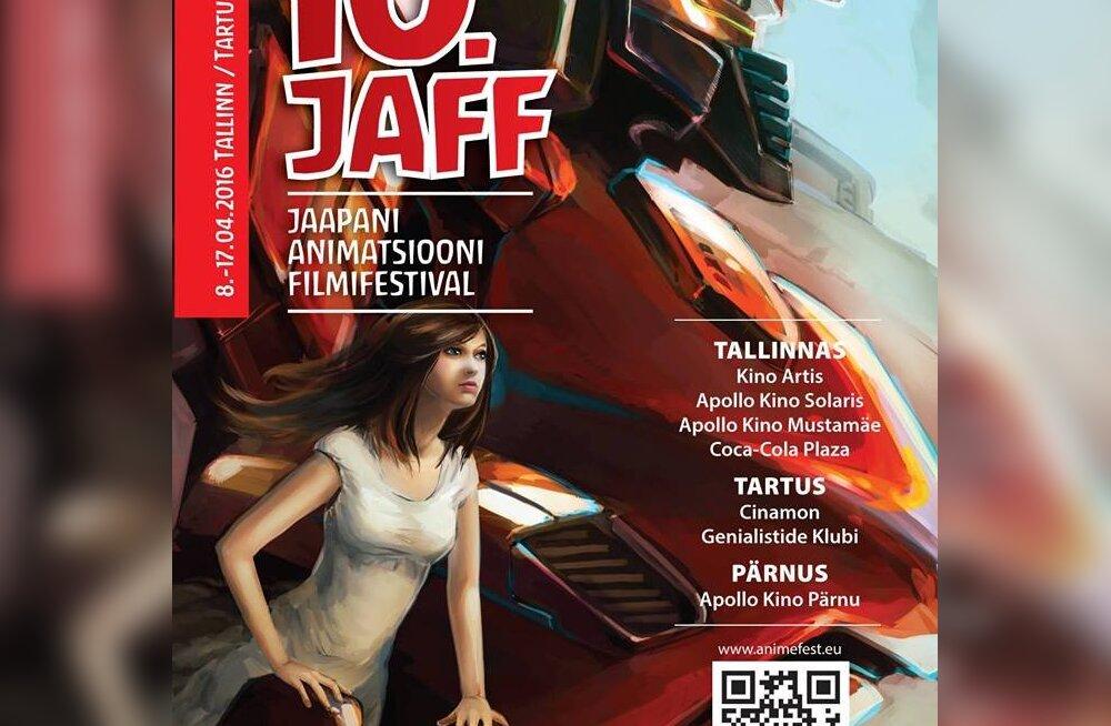 10. JAFF toob anime kuulsaimad robotid kinodesse