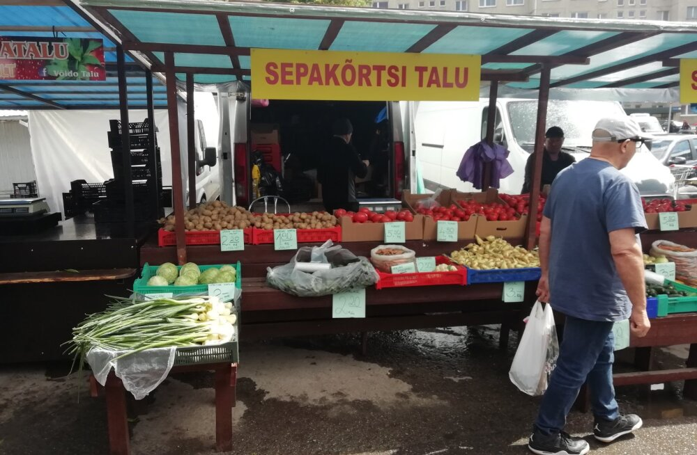 Ka toiduamet leidis Sepakõrtsi talu maasikatest keelatud aineid