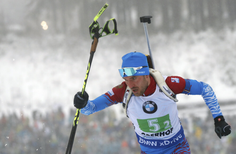 Venemaa võitis Oberhofis ka meeste teatesõidu, Eesti 14.