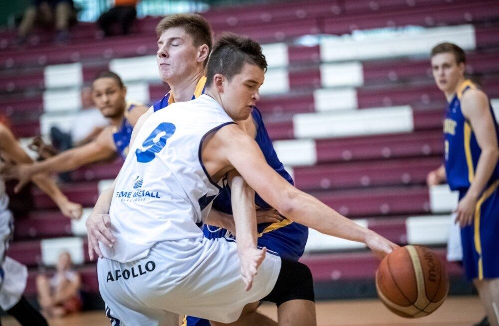 Kregor Hermet, U20 korvpallikoondis