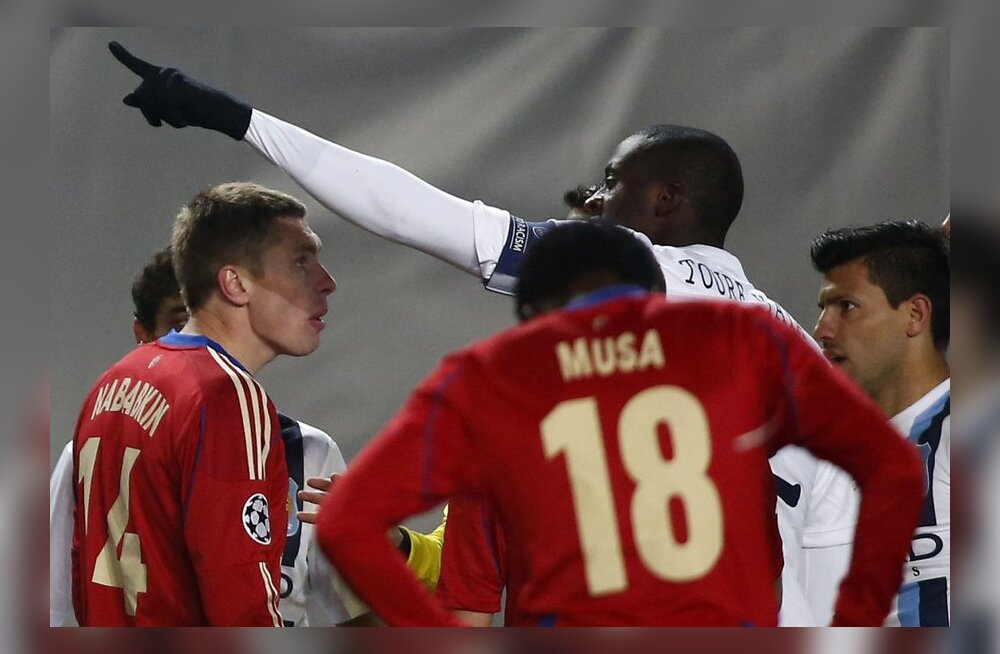 Yaya Toure kurtis FIFA asepresidendile Vene fännide rassistlikku käitumist