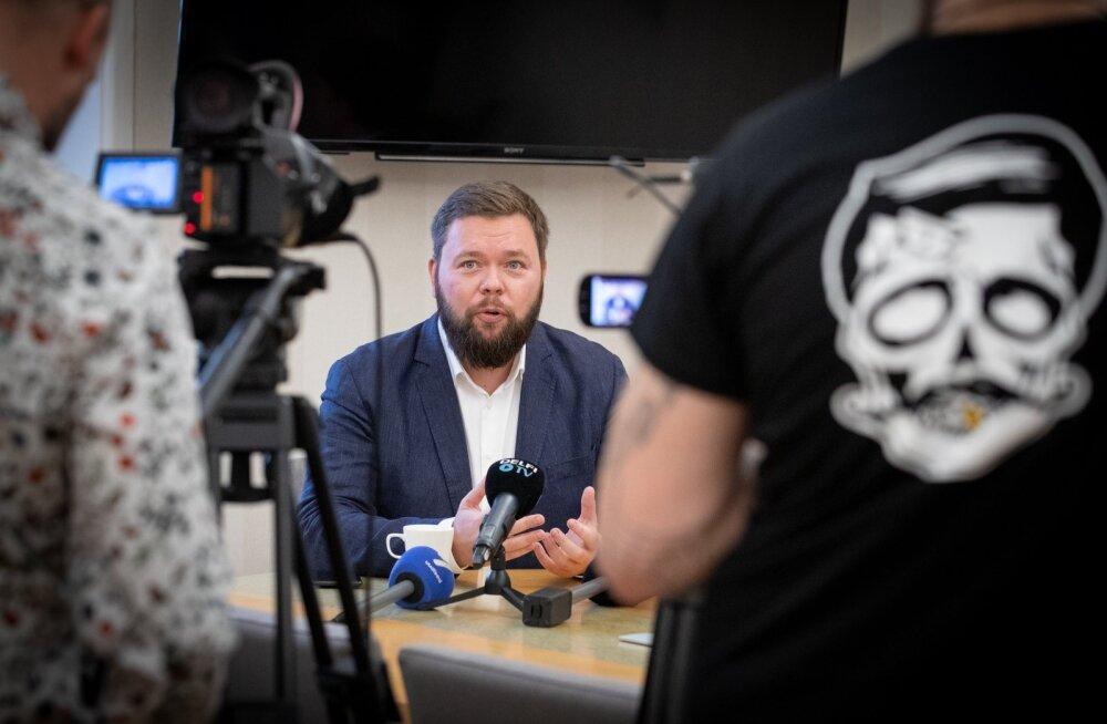 Väliskaubandus- ja IT-ministri kandidaat Kaimar Karu