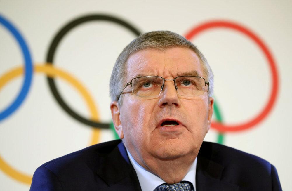 Rahvusvahelise Olümpiakomitee president Seefeldi dopinguskandaalist: dopingupatuseid tuleks karistada karmilt