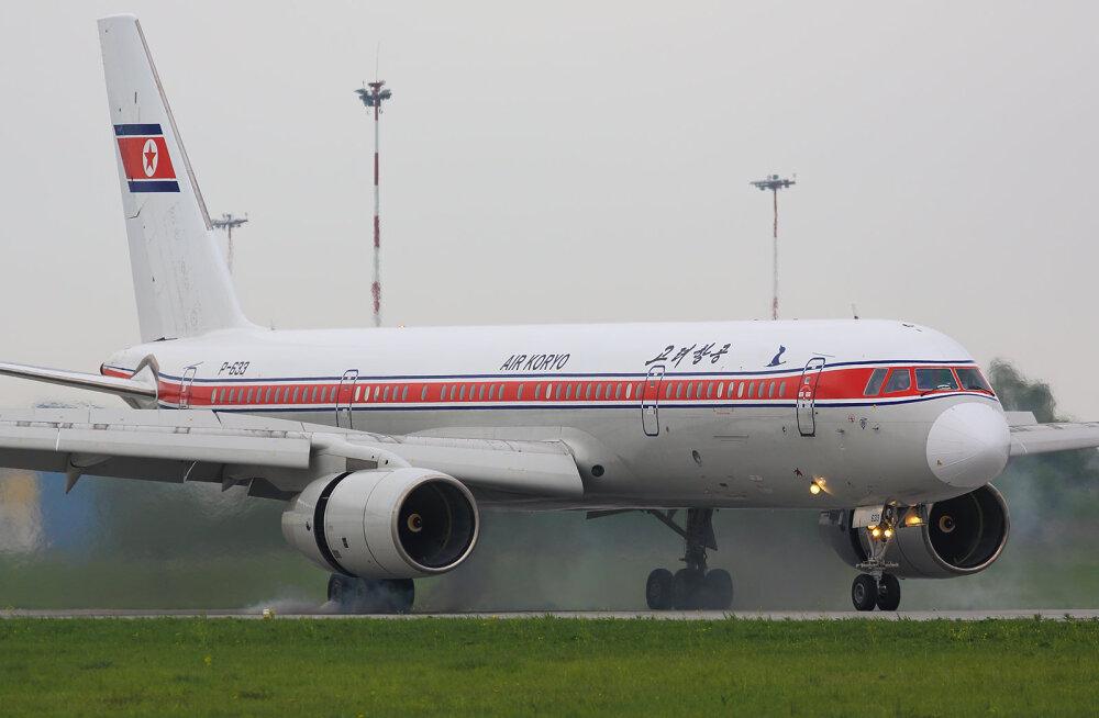 FOTOD: vaata, milline näeb välja lend maailma halvima lennufirmaga - Põhja-Korea Air Koryoga