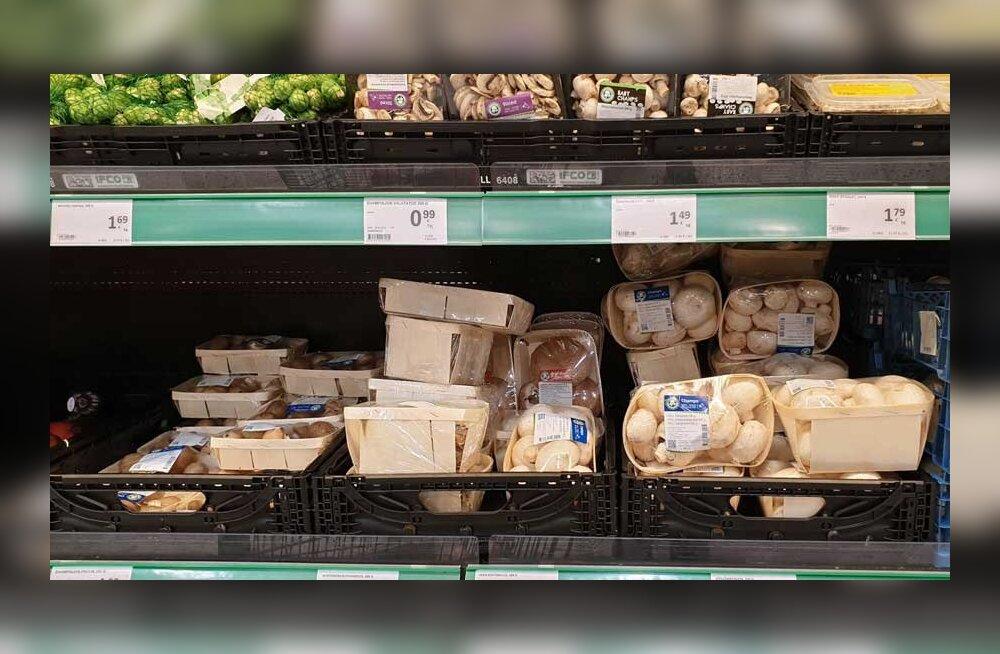 Какие свежие грибы можно найти в наших магазинах и что из них приготовить