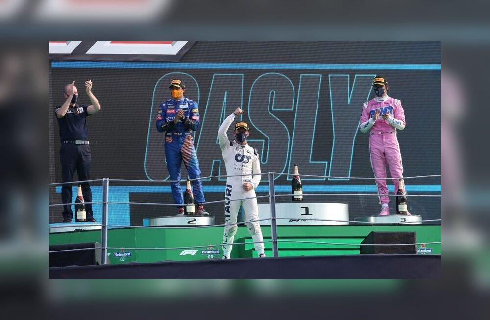 Väga ebatõenäolisele F1 poodiumijärjestusele 20 senti panustanud soomlane võitis suurelt