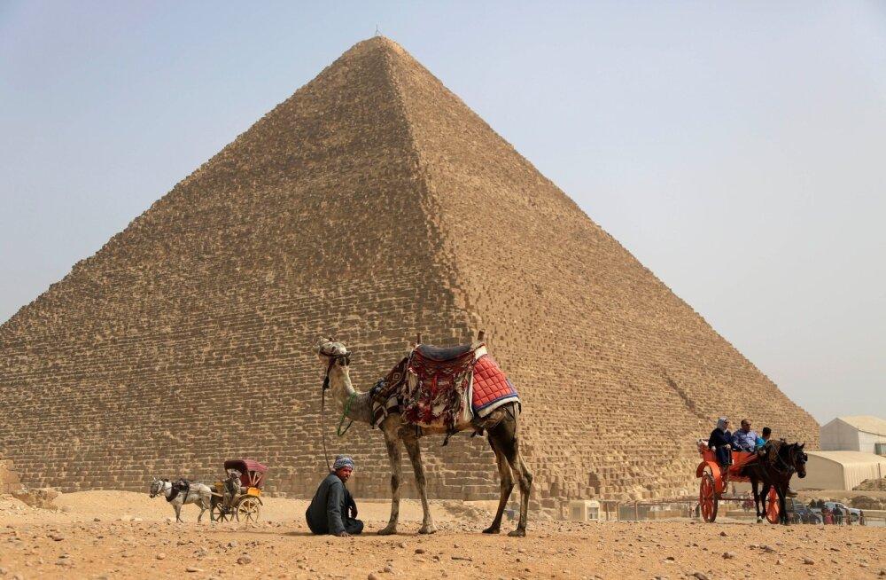 Püramiid Kairo lähistel Egiptuses