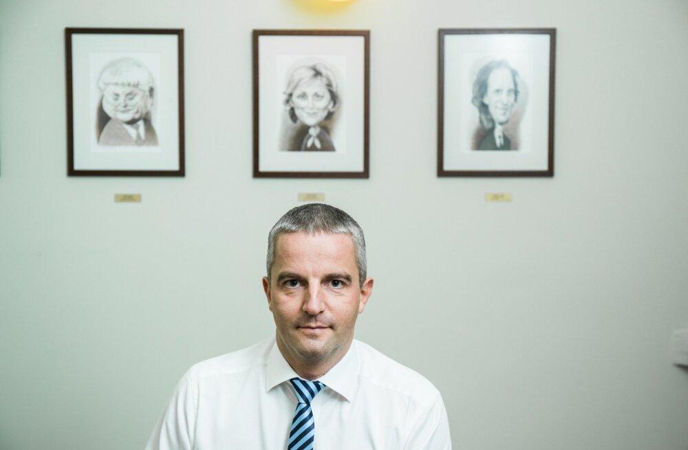 Paavo Nõgene viimaseid päevi kultuuriministeeriumi kantsler
