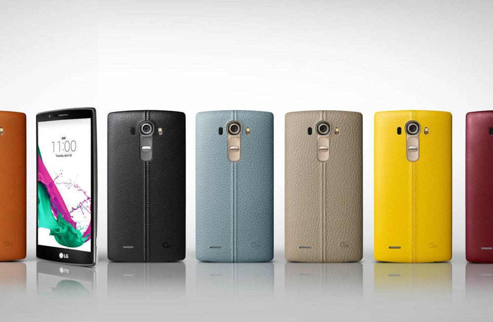 LG uue tipptelefoni G4 nahkkere muutis rivaal Motorola ootamatult tundlikuks