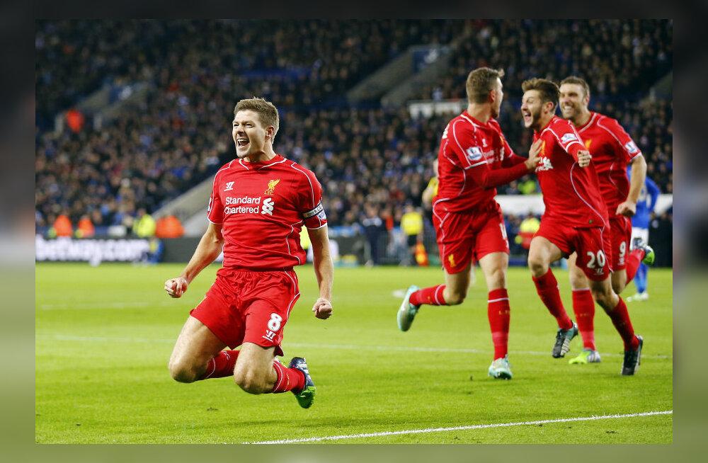 Liverpooli kapten Steven Gerrard