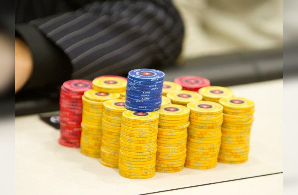 Euroopa pokkeriturnee Tallinna etapp algas eestlastele edukalt