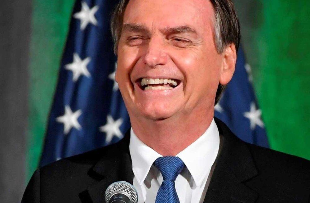 Brasiilia raiub maha vihmametsa, ent president soovitab rahval hoopis poole vähem roojata