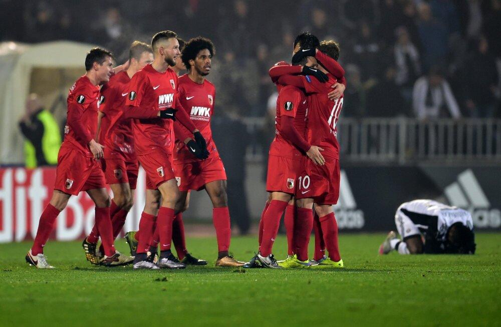 Klavan ja Augsburg võivad kohtuda Manchester Unitediga