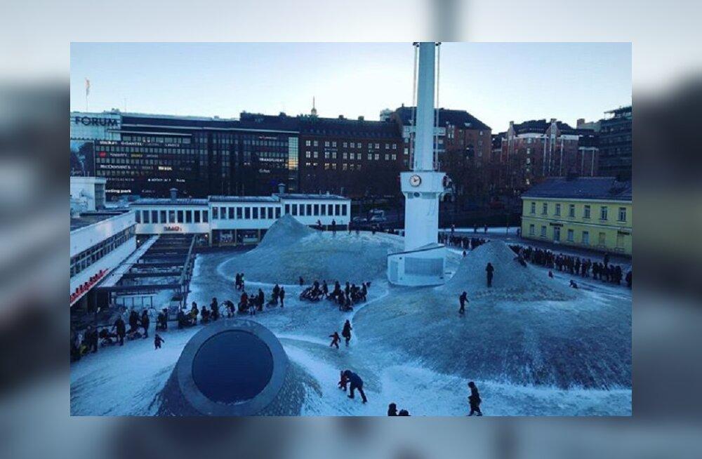 Почему в Хельсинки перед новым музеем Amos Rex выстраиваются длинные очереди?