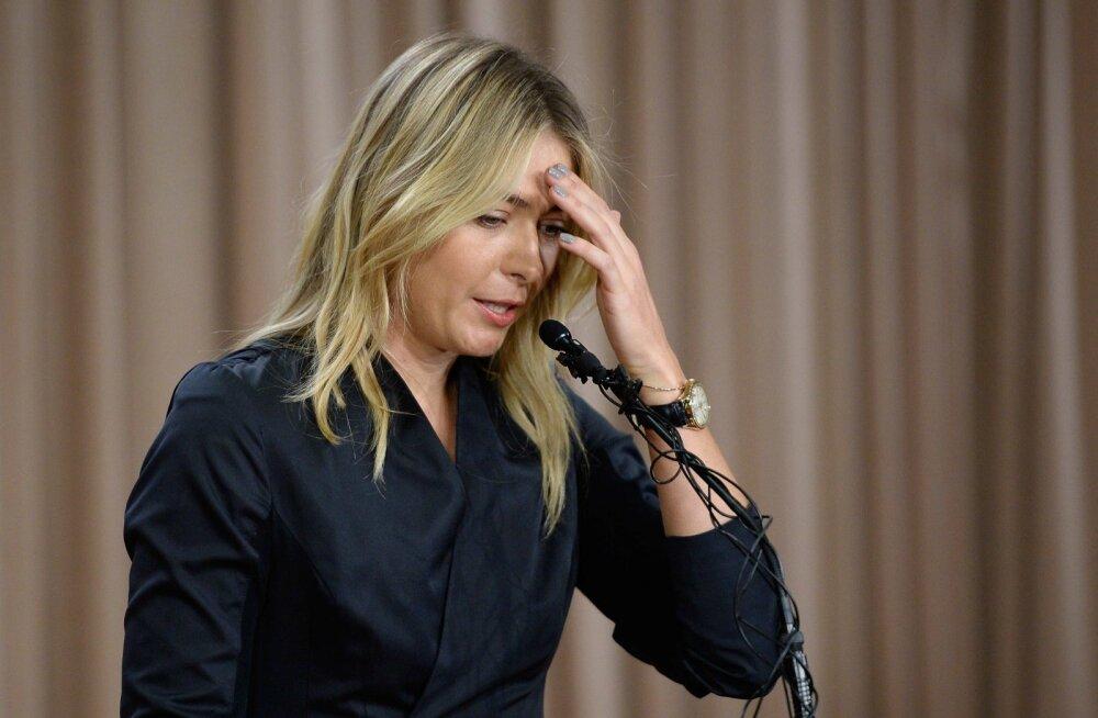 Maria Šarapova teatas talvisel pressikonverentsil, et kasutas meldooniumit teadmata, et see on nüüd keelatud ainete nimekirjas.