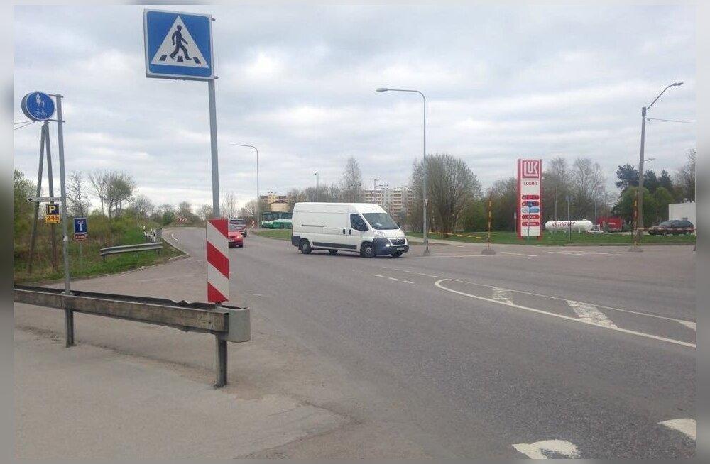 Aastaid tagasi suleti liikluseks Purde tänav.
