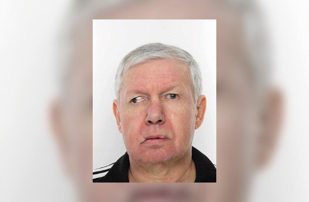 Politsei otsib hooldekodust lahkunud 60-aastast Aarnet