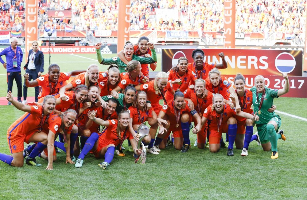 Naiste jalgpalli EM lükati 2022. aastasse