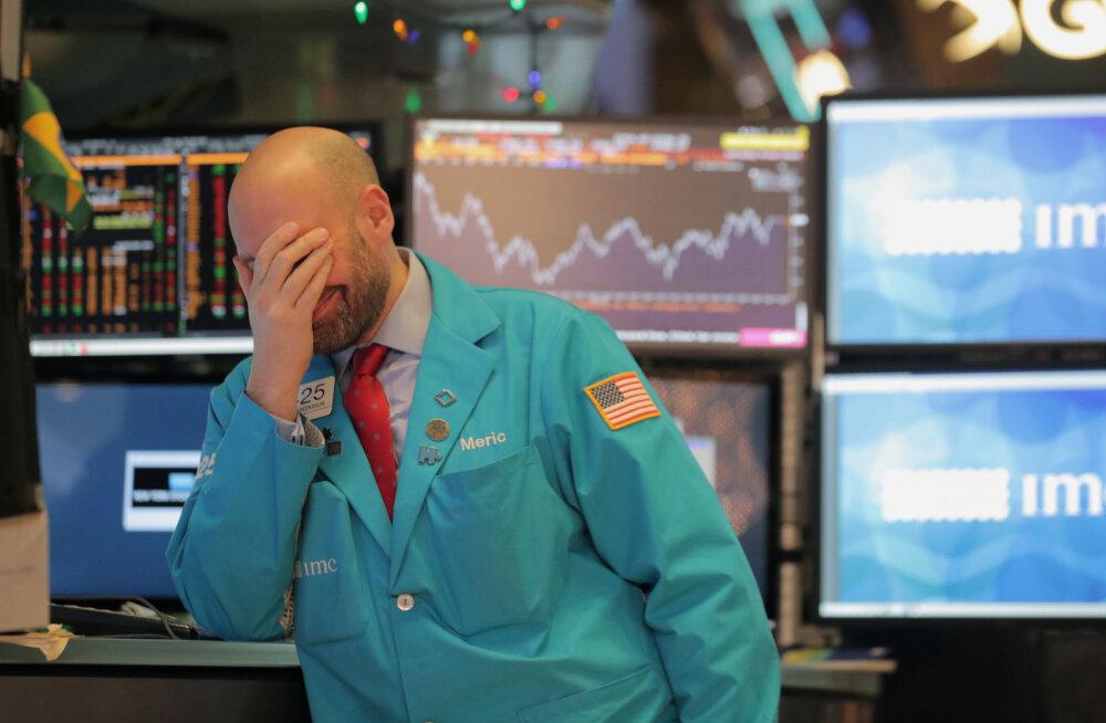 Hiina seadmehiiu halb üllatus kukutab Aasias ja Euroopas börse