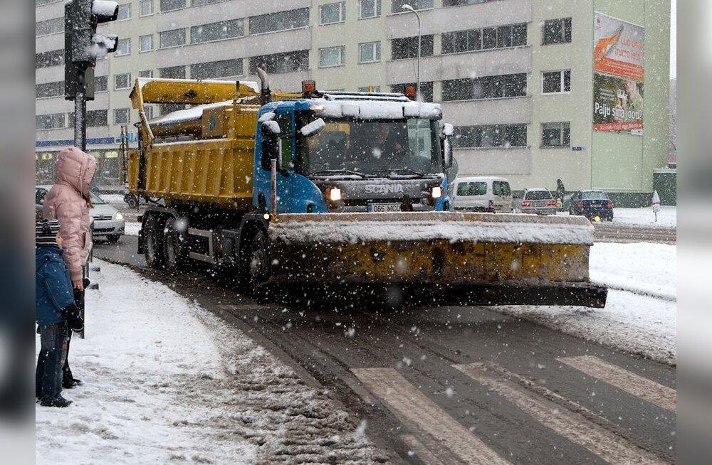 Tallinn tahab rajada oma tänavapuhastusfirma