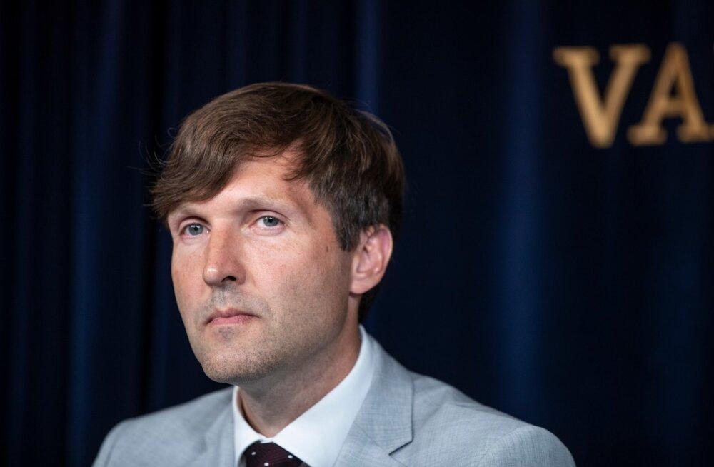 EKRE esimees ja rahandusminister Martin Helme