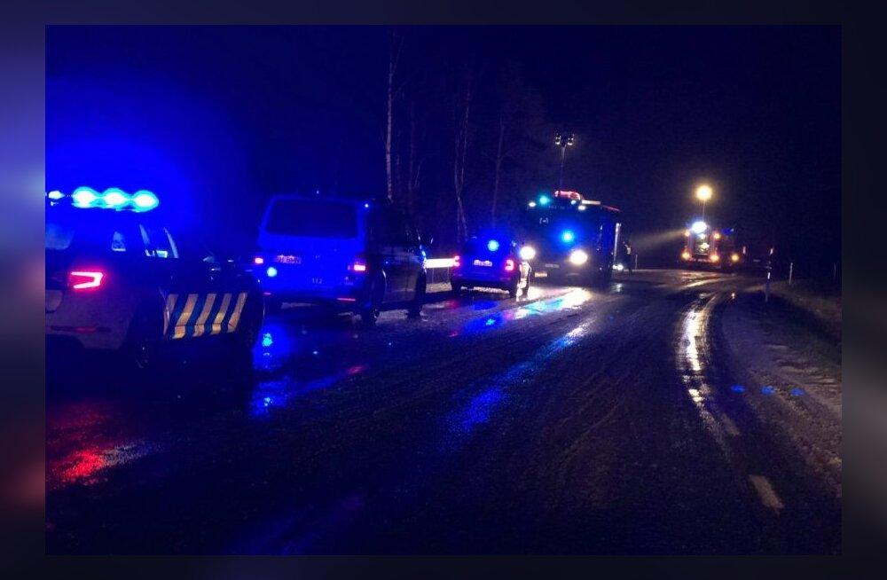 Maanteeamet: teeolud võivad olla ohtlikud korralikule libeda- ja lumetõrjele vaatamata