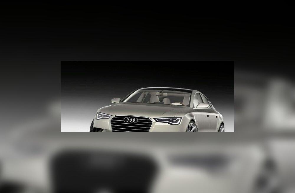 Audi Sportback concept— ideeauto lähitulevikust