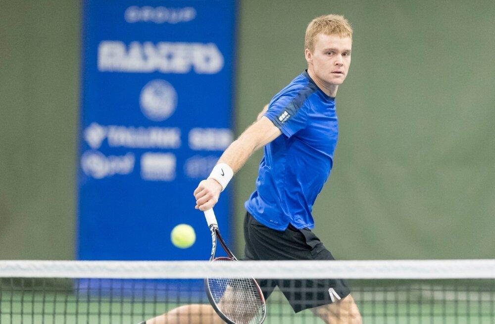 Tere Tennisekeskuses Alexela Masters turniiri raames segapaarismäng Anett Kontaveit Kenneth Raisma - Maria Lota Kaul Jürgen Zopp