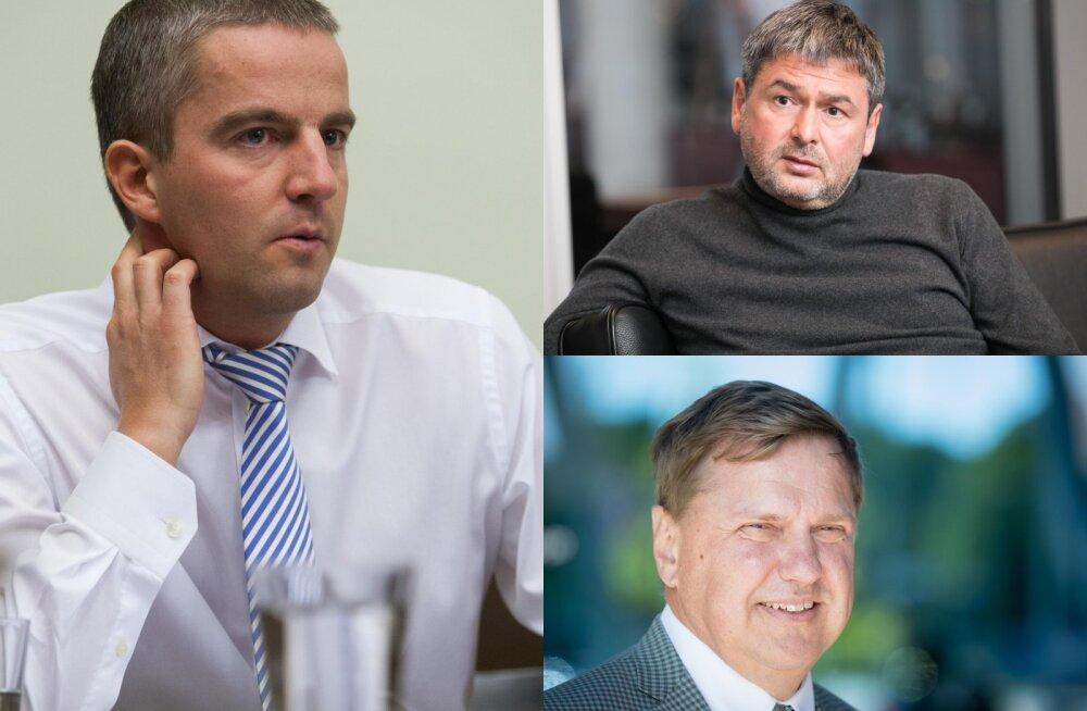 Kes tuntud majandustegelastest on Tallinna Sadama aktsiatest loobunud ja kes võimsalt juurde ostnud?