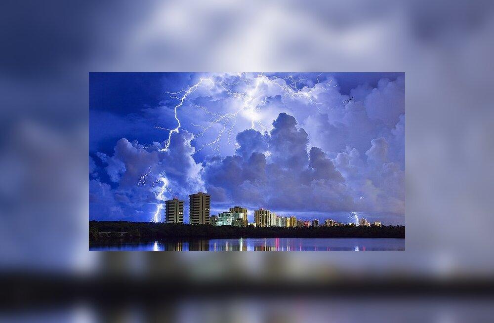 Kiirgusoht pealpool pilvi: Gammasähvatusi sünnitab iga äikesetorm