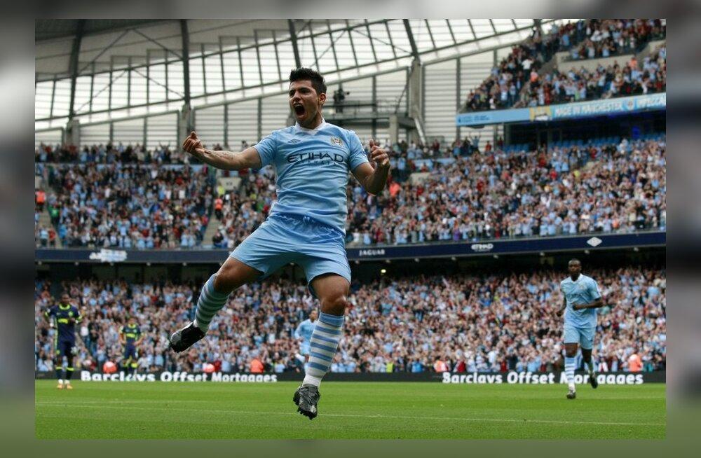 Sergio Agüero, Manchester City, inglismaa jalgpall
