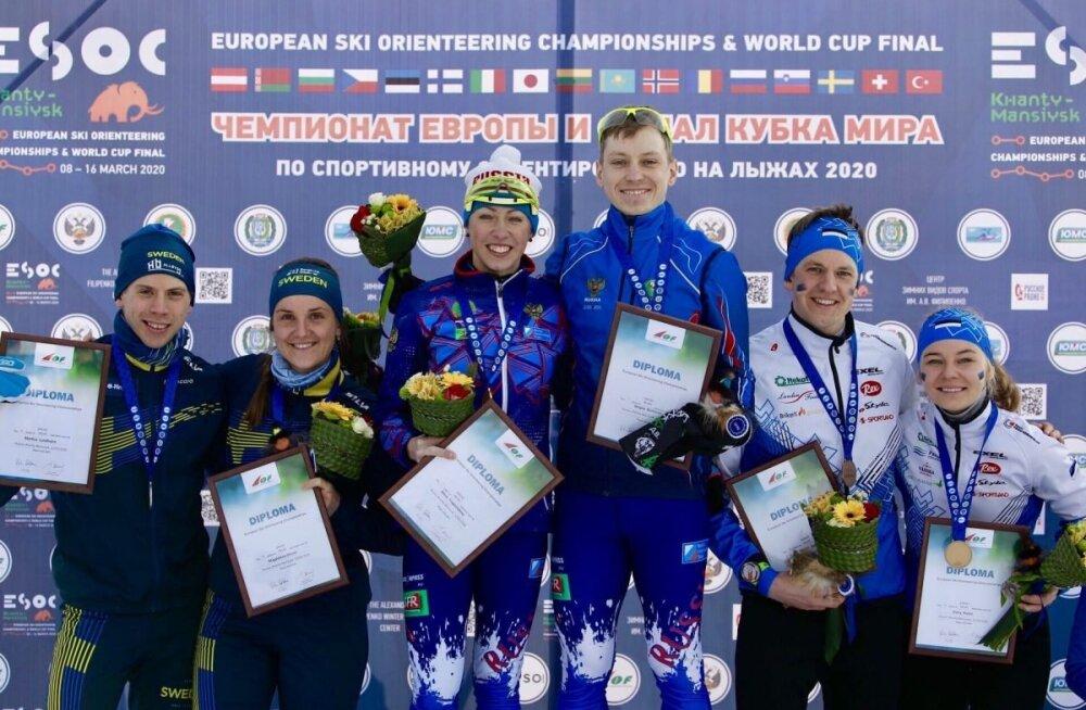 Daisy Kudre ja Mattis Jaama võitsid pronksmedali
