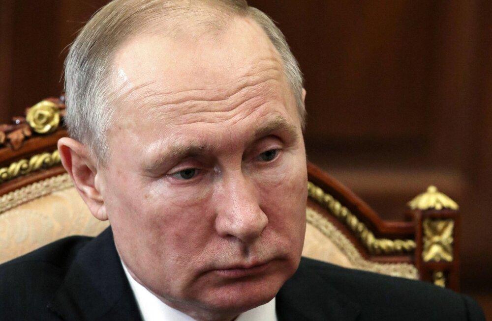 Putini nõupidamine valitsusega toimub esmakordselt telekonverentsina