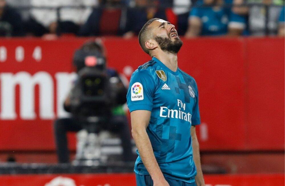 Pettunud Karim Benzema.