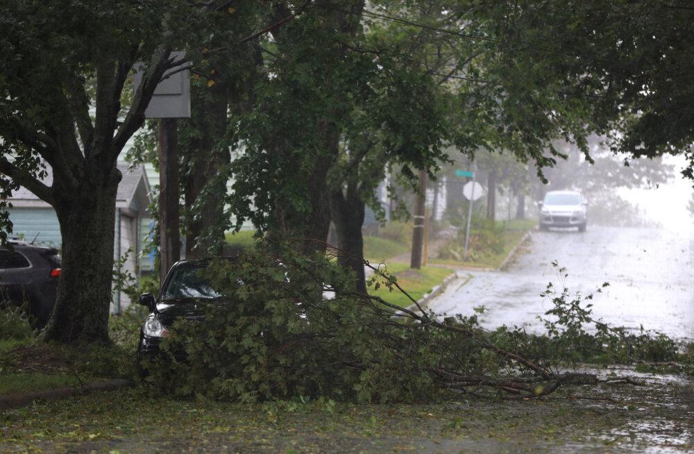 Orkaan Dorian jõudis Kanadasse postroopilise tsüklonina