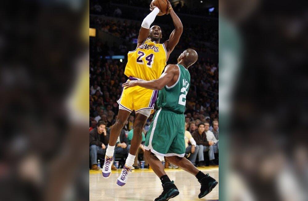 Kobe Bryant ja Ray Allen