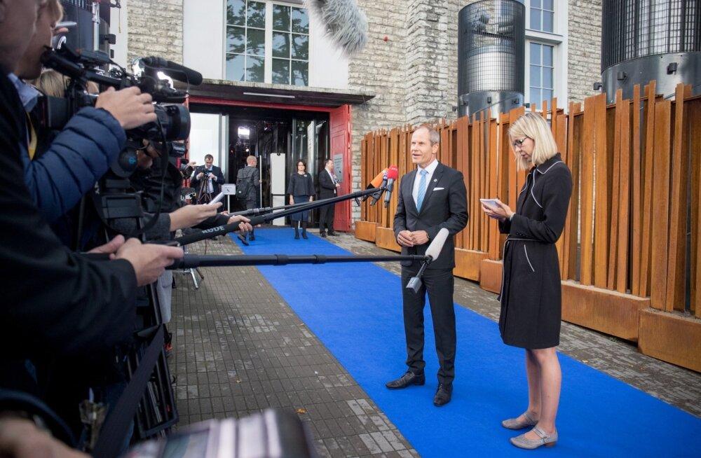 Euroopa Liidu majandus- ja rahandusministrite nõukogu ehk ECOFINi mitteametlik kohtumine.