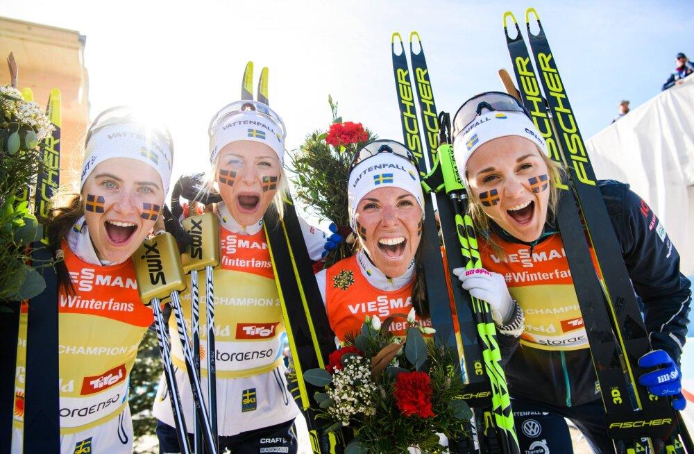 Rootsi suusatamine seisab krahhi äärel: Stina Nilssoni lahkumine oli kõigest jäämäetipp