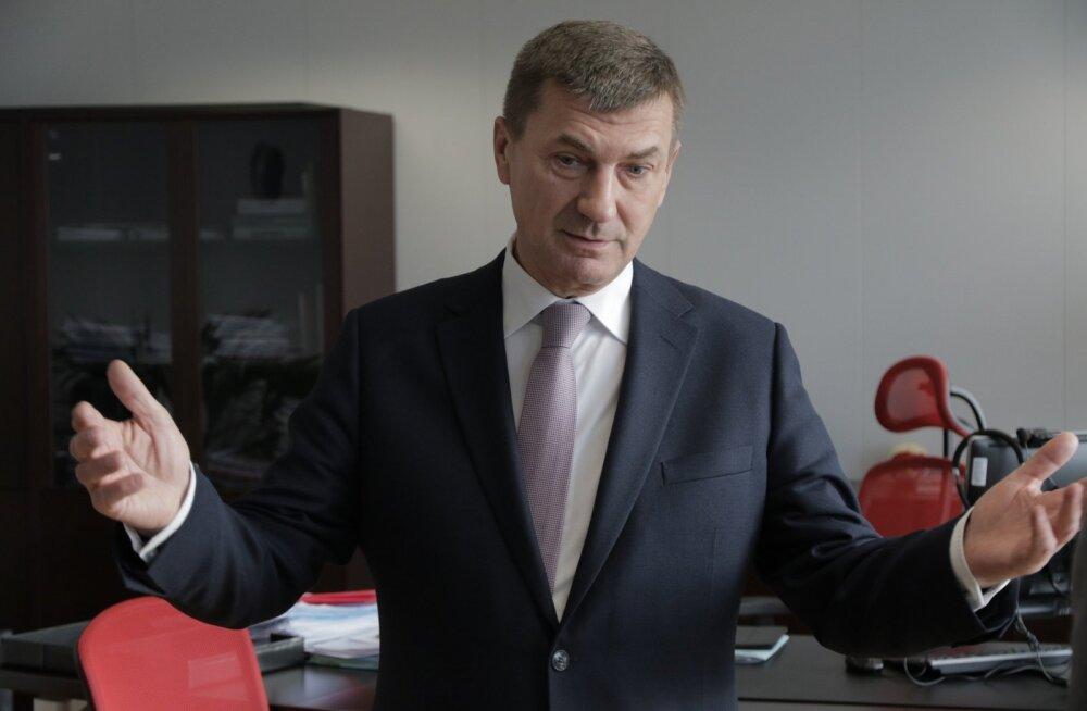 Euroopa Komisjoni asepresident ja endine Eesti Vabariigi peaminister Andrus Ansip