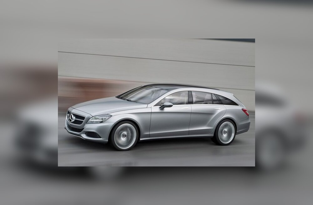 Mercedes-Benz CLS Shooting  Brake Concept