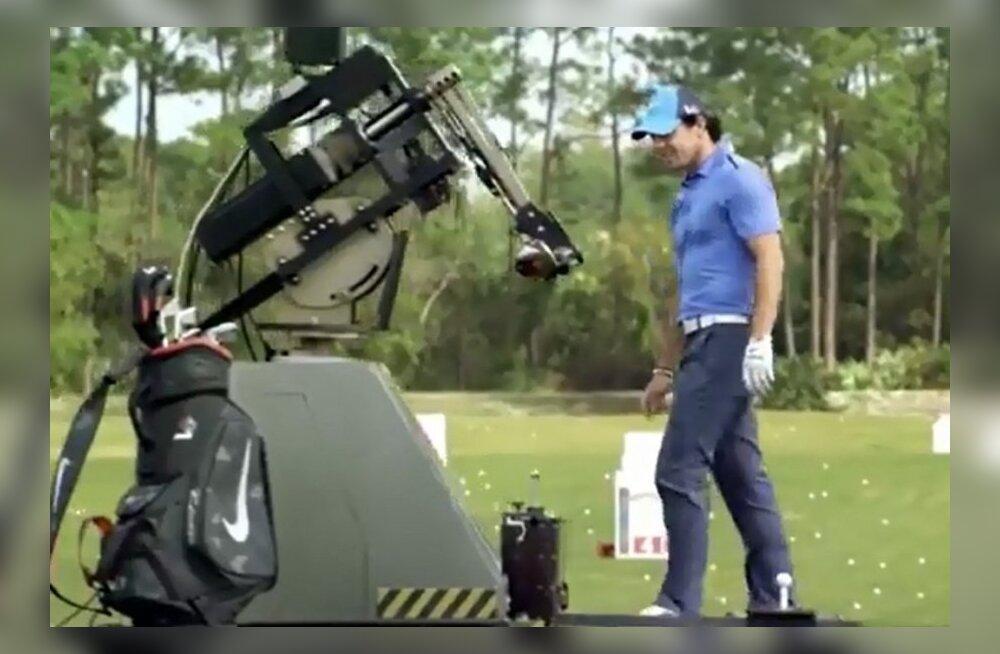 Rory McIlroy vs. robot