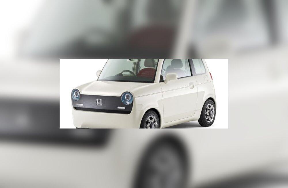 Honda imearmas pesamuna EV-N